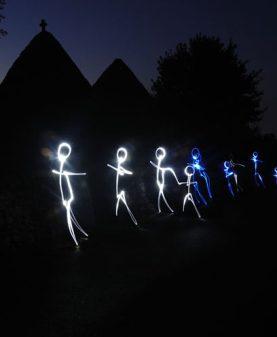 ATELIER LIGHTPAINTING PLEIN LA BOBINE