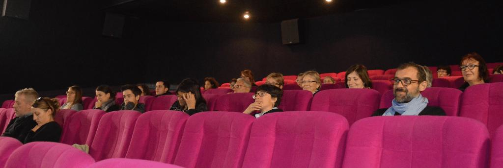 L'aménagement de la salle de cinéma